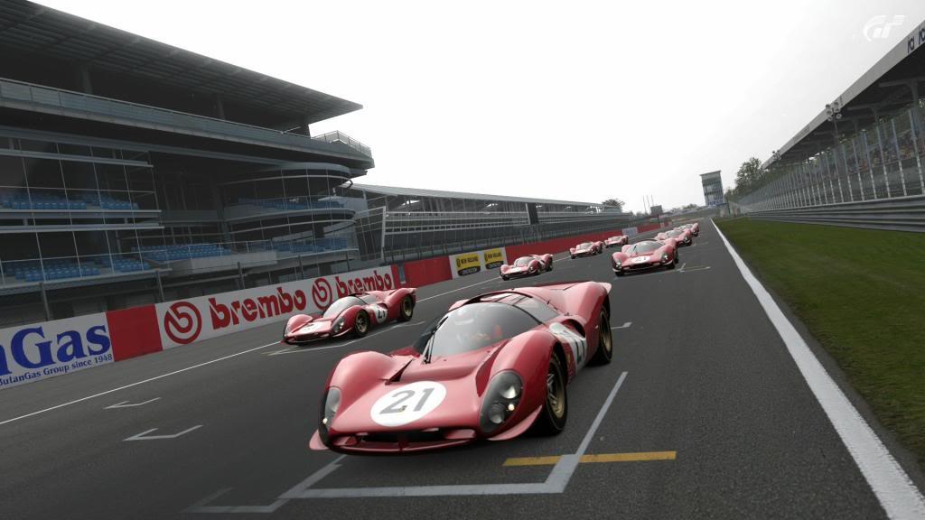 15 Monza - Ferrari 330 P4 AutodromoNazionalediMonza-1_zpsb4ce67c8