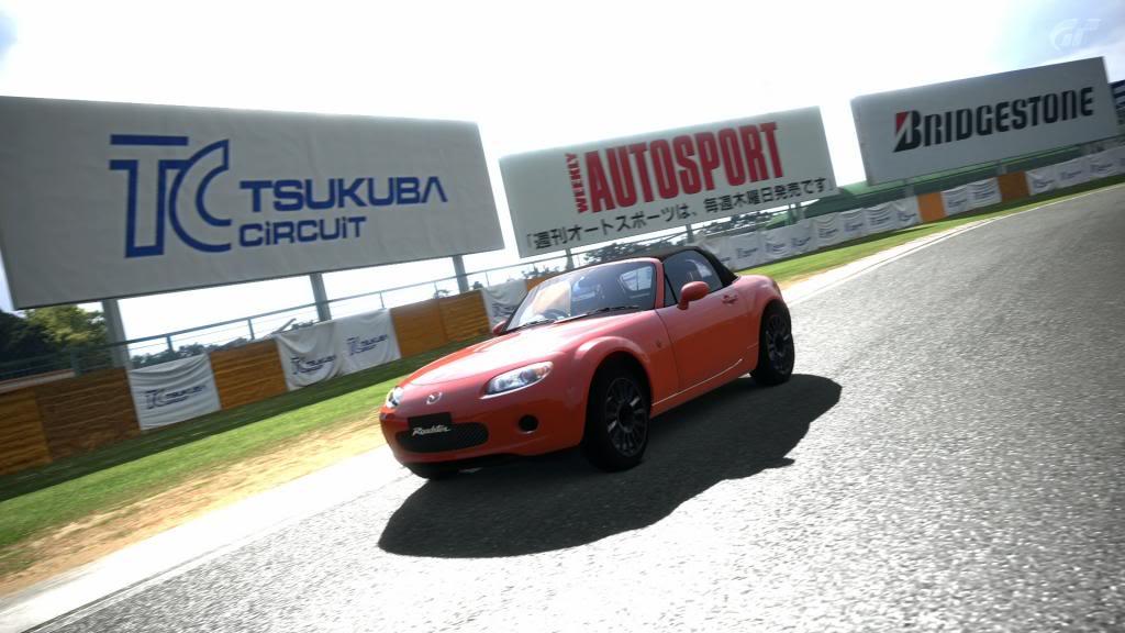 02  Tsukuba - Mazda Roadster TsukubaCircuit_6-1