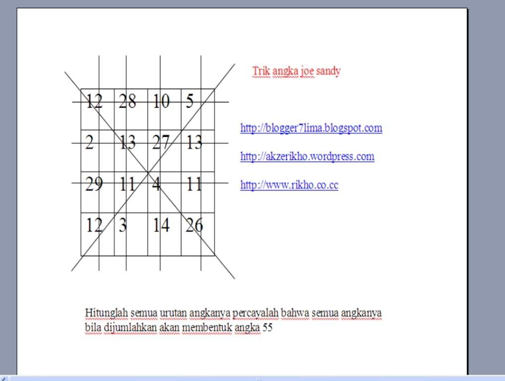 cara magic square Qangka