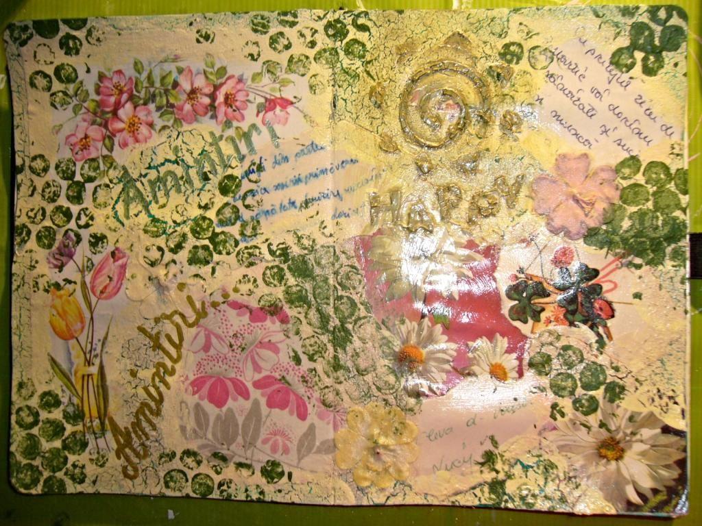 Provocarea Art journaling - Flori P1140681_zps3405ff5b