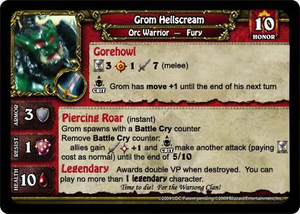customize minis 3 - For the Horde! GromHellscream