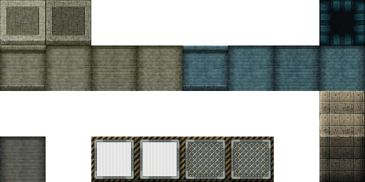 Tiles set moderne et futuristes Z18-TileA3