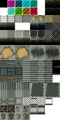 Tiles set moderne et futuristes Z18-TileA5