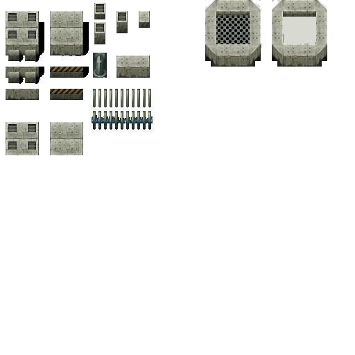 Tiles set moderne et futuristes Z18-TileE