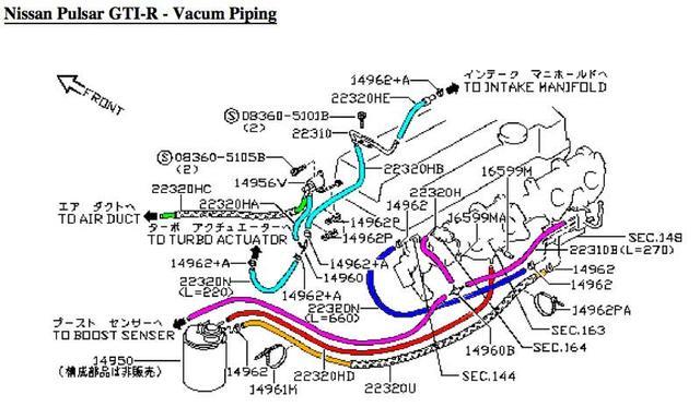 Vac pipes Vacuum-piping