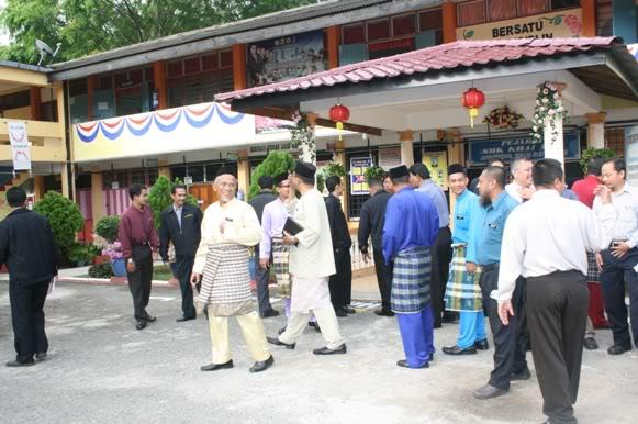 LAWATAN BENCHMARK KE SMK KHAI MUN Km10