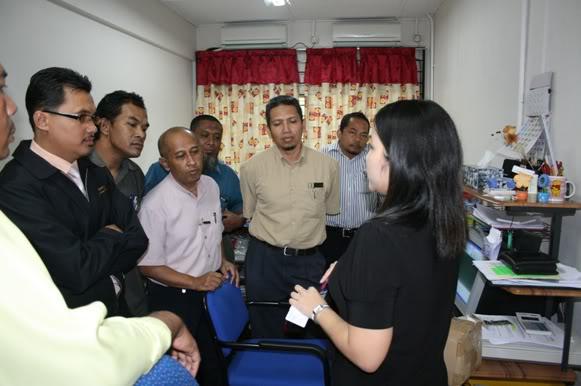 LAWATAN BENCHMARK KE SMK KHAI MUN Km14