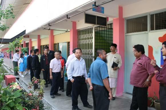 LAWATAN BENCHMARK KE SMK KHAI MUN Km17