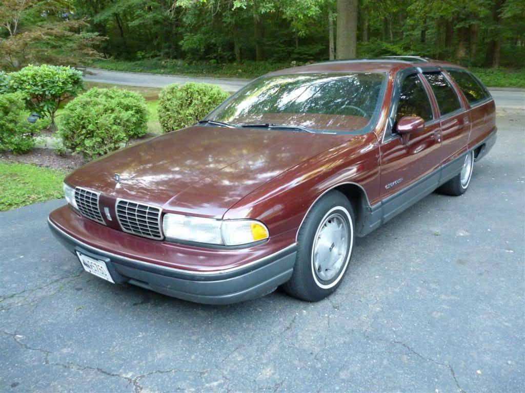 1991 Olds Custom Cruiser Angle2