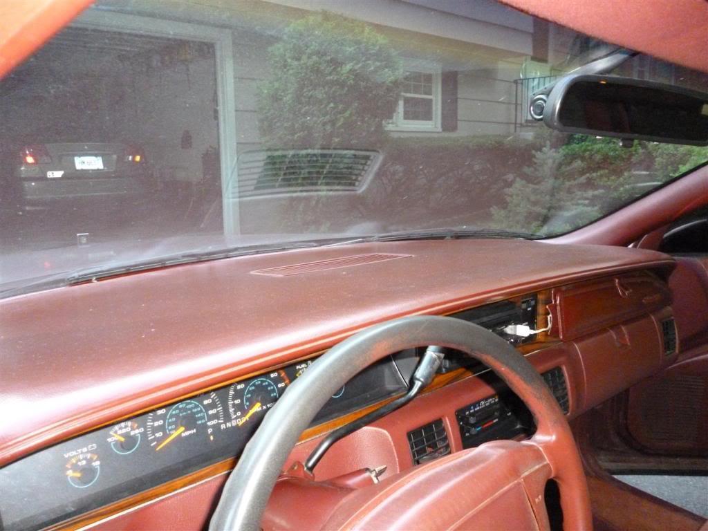 1991 Olds Custom Cruiser Dash