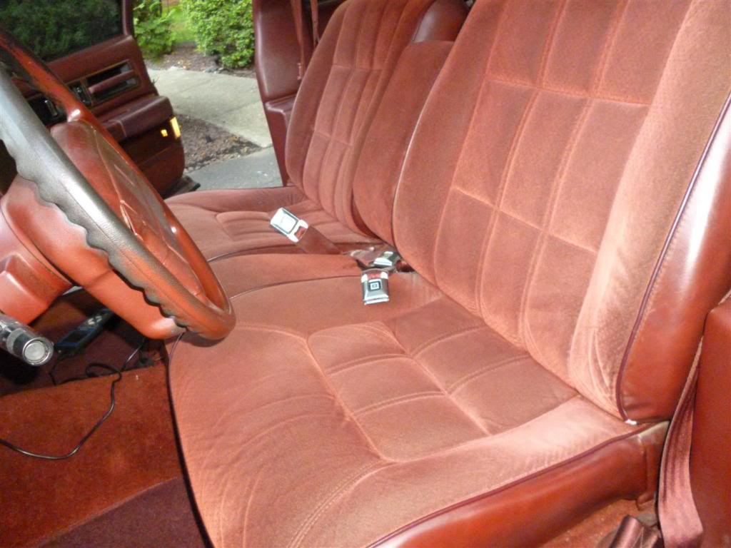 1991 Olds Custom Cruiser Dsseat