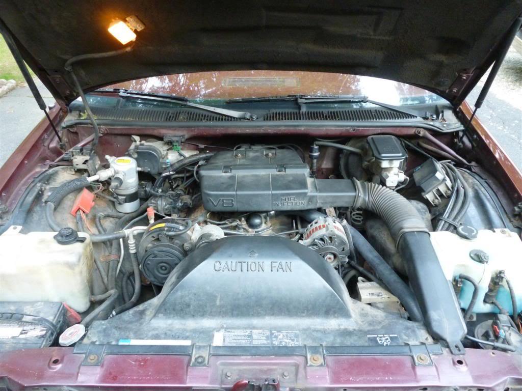 1991 Olds Custom Cruiser Engine