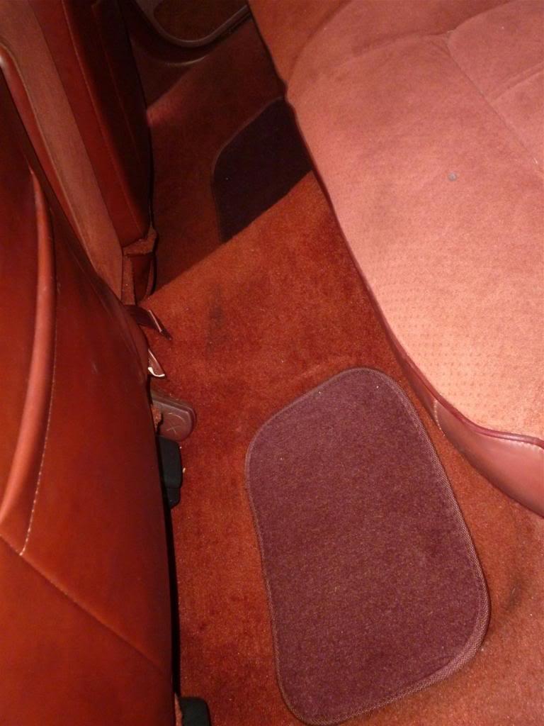 1991 Olds Custom Cruiser Rearfloor
