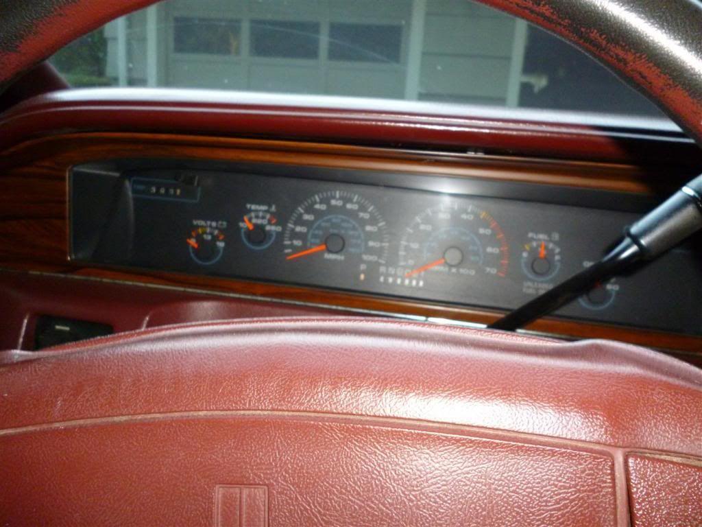 1991 Olds Custom Cruiser Separation