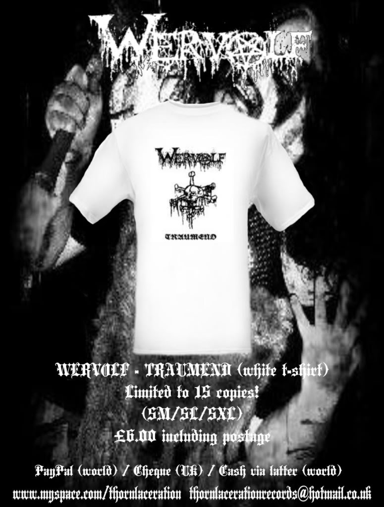 Thorn Laceration Records FlyerMA