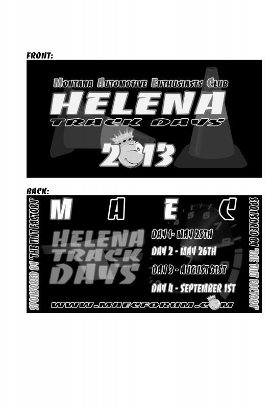 2013 Helena Track Track Days Hoodie / Shirt HelenaShirt2013Final