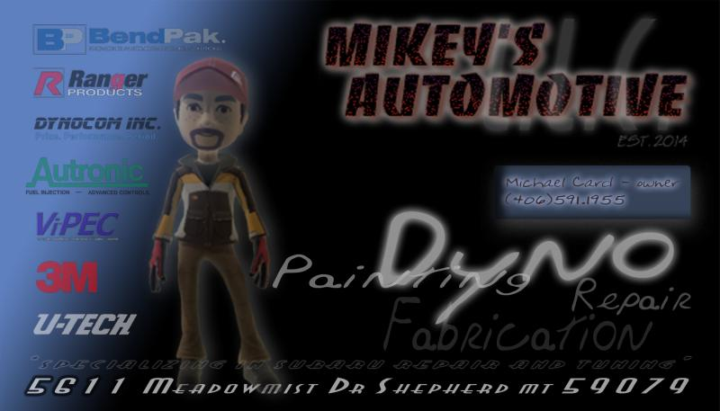 All-Wheel Dyno landing Mid-July MikeysBusinessCard