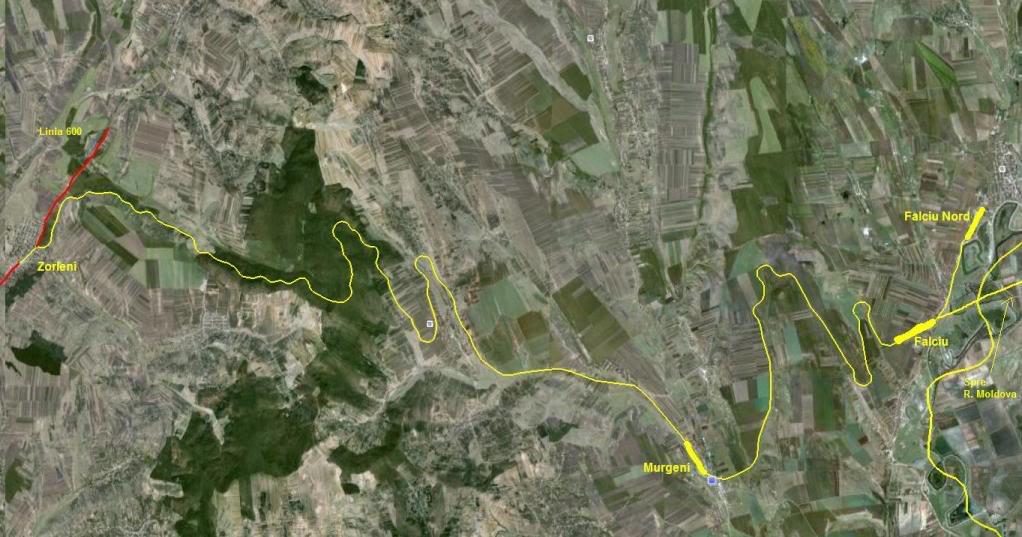 603 : Zorleni - Falciu Nord - Prut 603