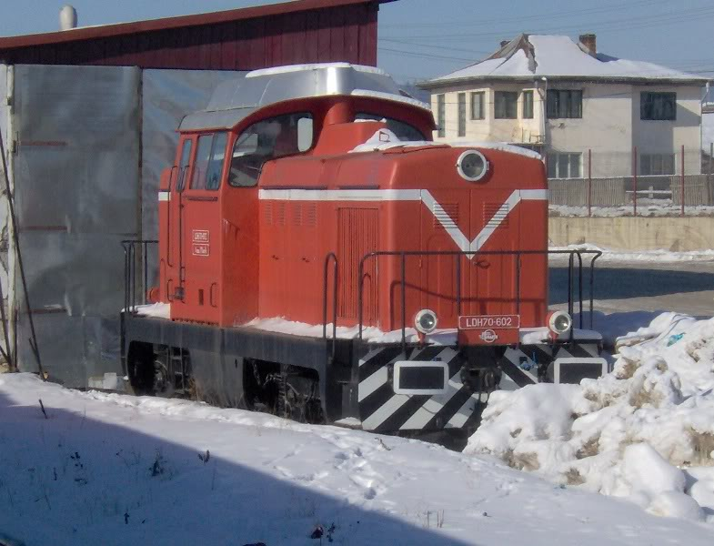 Locomotive clasa 85 (LDH 70) LDH70-602