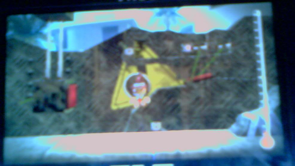 My LBP PSP Level (With a horrible quality pic :P) LBPPSP