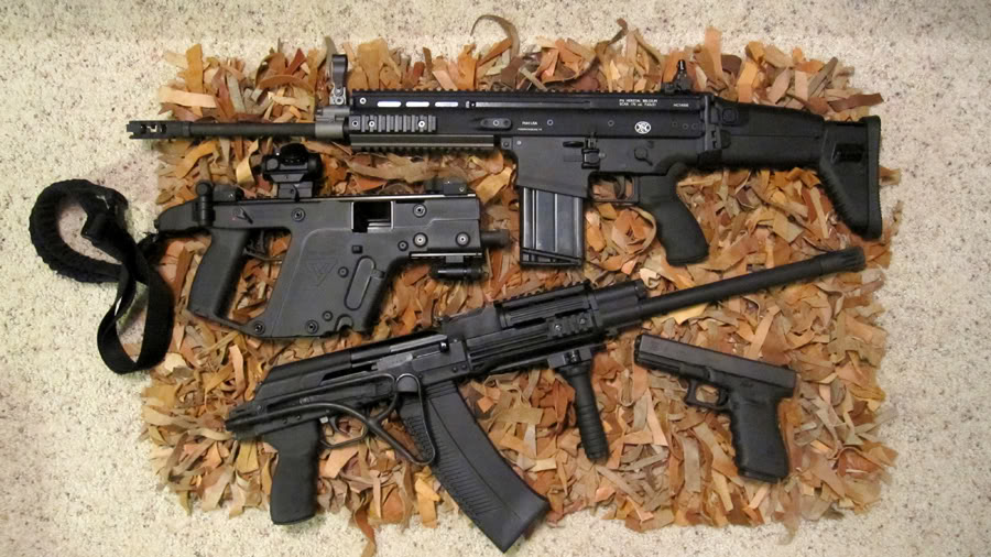 Let's see some pics of your KRISS Vector DefensiveLine-up
