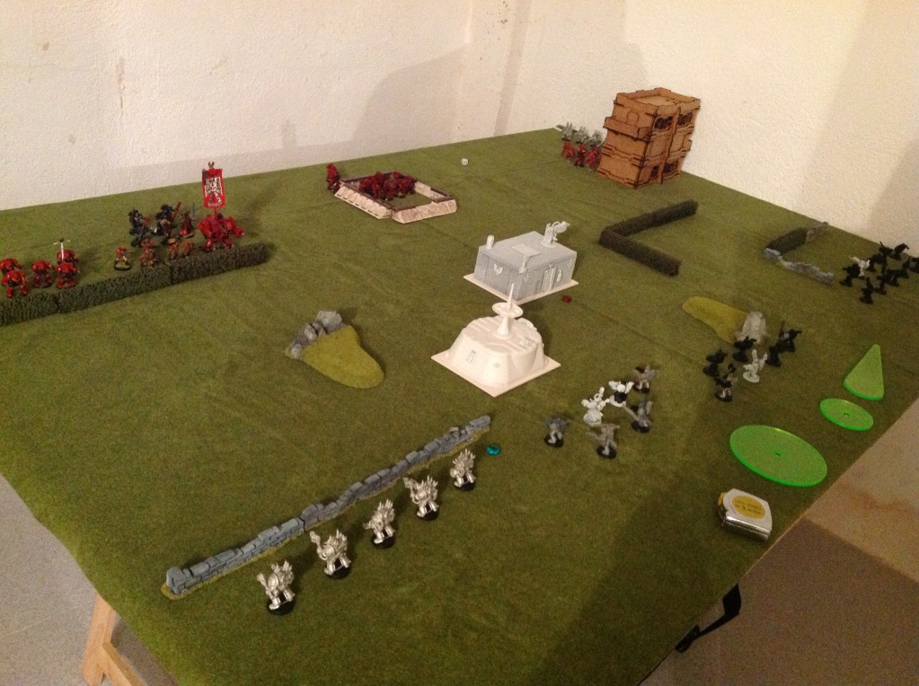 Batalla de prueba Ángeles Sangrientos vs Marines Espaciales del Caos IMG_0356