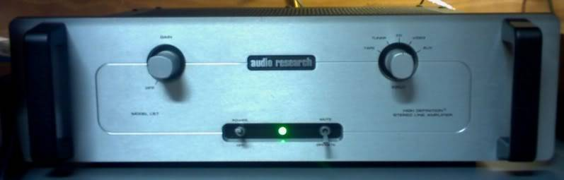 Os meus brinquedos AudioResearch_LS7