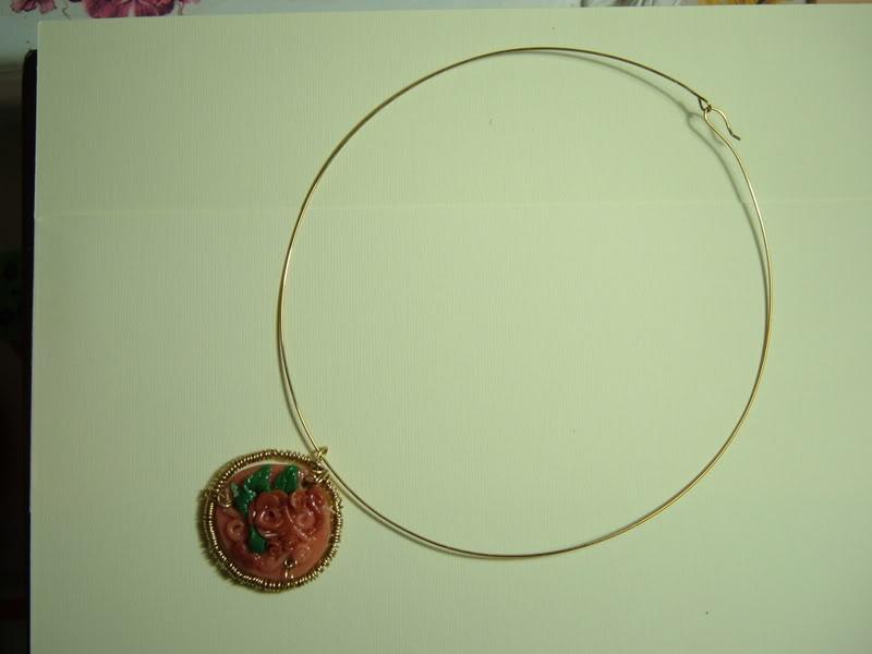 collana con miniatura rose DSCF2324