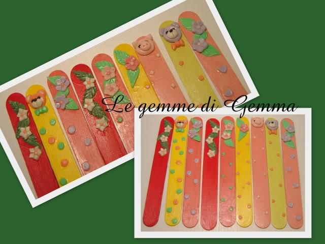Segnalibri allegria colorata e portafoto animaletti Fotolavorirecenti10
