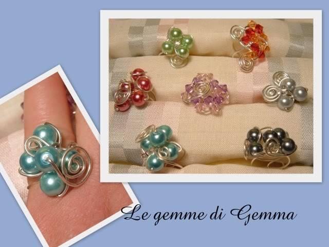 Anelli in wire- collane perle in rete a colori e bracciali candy queen Fotolavorirecenti4