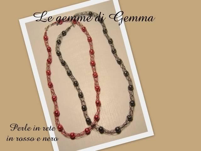 Anelli in wire- collane perle in rete a colori e bracciali candy queen Fotolavorirecenti9