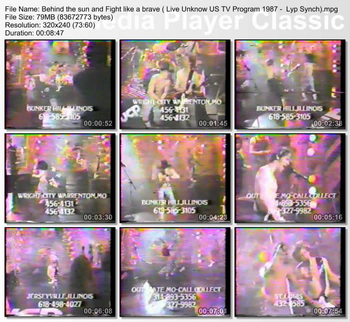 [Video] 1987.12.xx - United Cerebral Palsy Telethon, ?, USA - Midwest Television 198711xx
