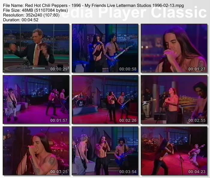 [Video] 1996.02.13 - Ed Sullivan Theater, New York, NY, USA - The Late Show 19960213