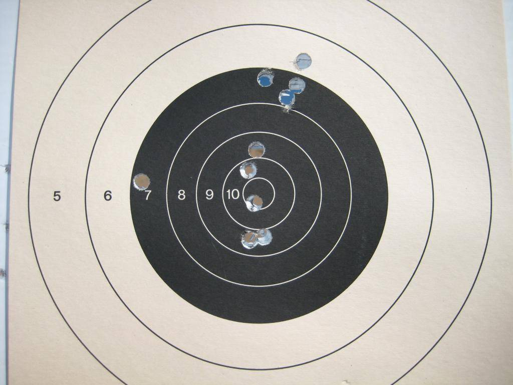 Pics of my skill level at this point ... Target001