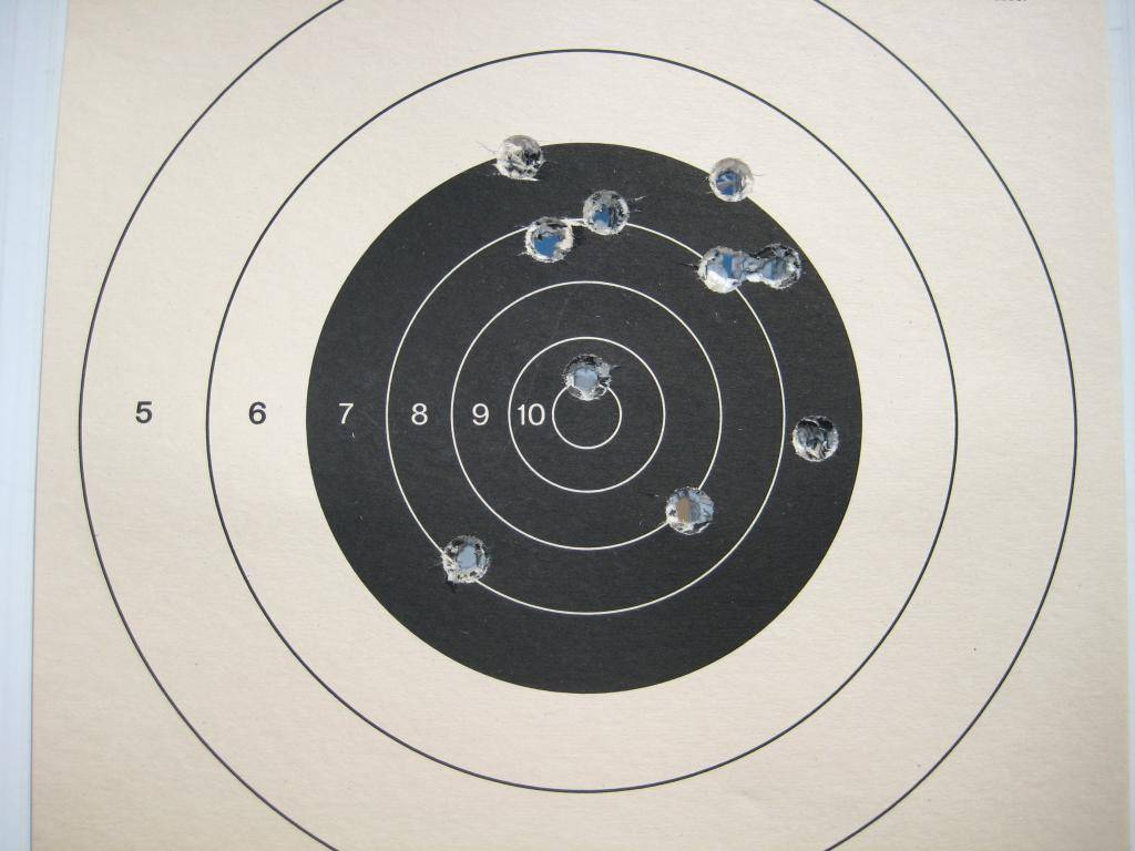 Pics of my skill level at this point ... Target004