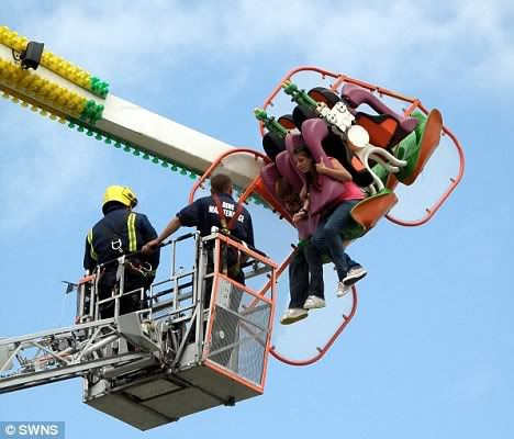 Terror at the fairground as girls are left dangling face-down for an hour Article-1202228-05D70261000005DC-27