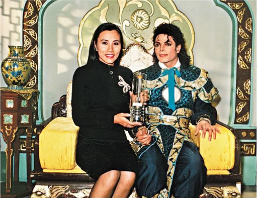 Liza Wang previously met Michael Jackson Liza