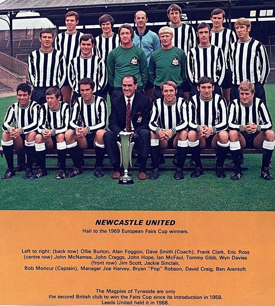 Vintage Newcastle - legendarne utakmice 1969EuropeanFairsCupWinners
