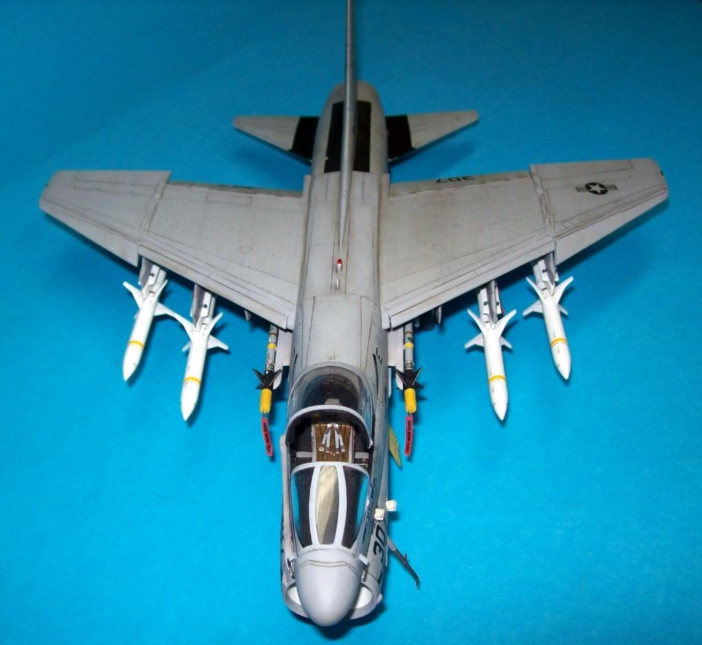 A-7E corsair II, 1/48 hasegawa. A7-01