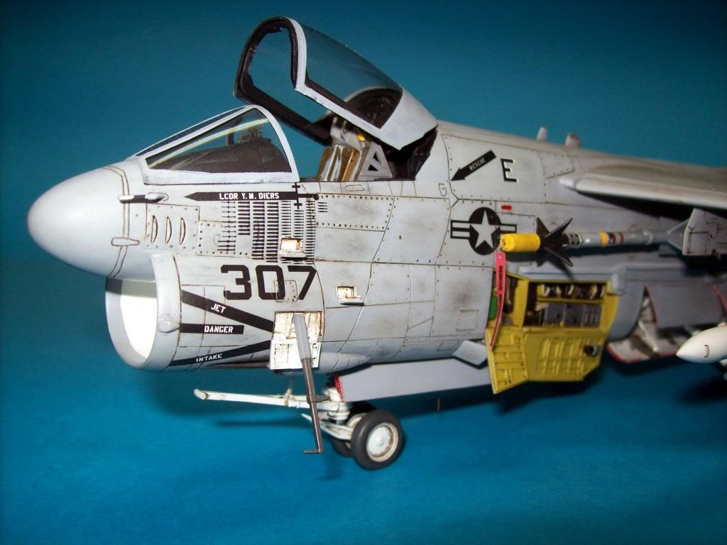 A-7E corsair II, 1/48 hasegawa. A7-03