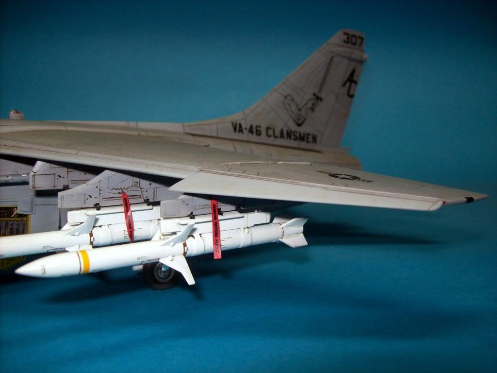 A-7E corsair II, 1/48 hasegawa. A7-04