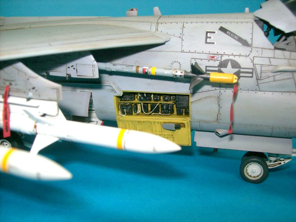 A-7E corsair II, 1/48 hasegawa. A7-11
