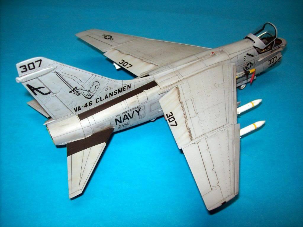 A-7E corsair II, 1/48 hasegawa. A7-15
