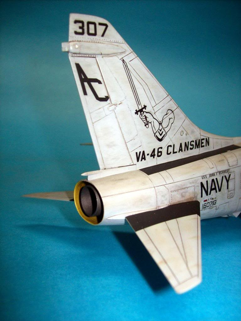 A-7E corsair II, 1/48 hasegawa. A7-17