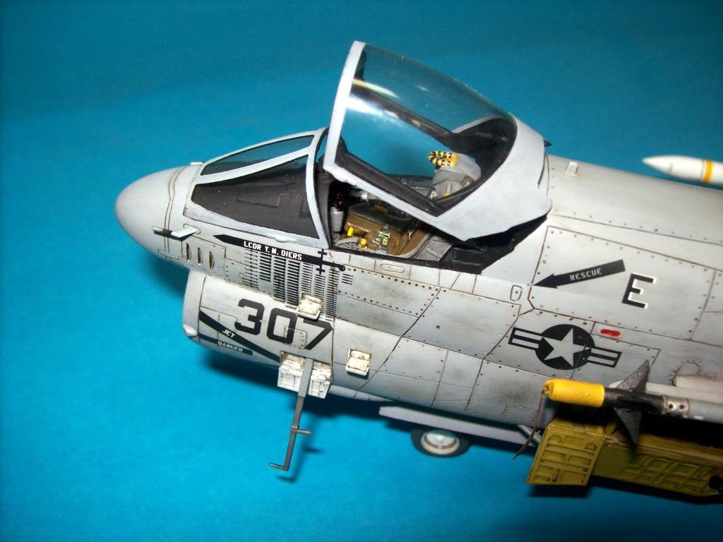 A-7E corsair II, 1/48 hasegawa. A7-23