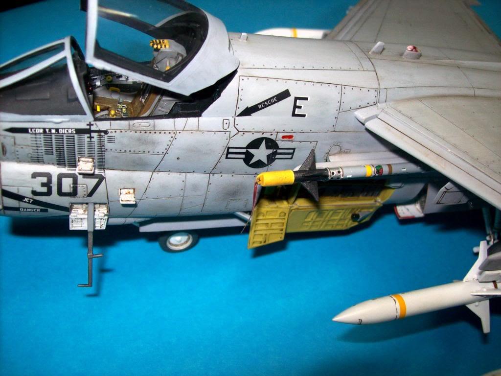A-7E corsair II, 1/48 hasegawa. A7-27