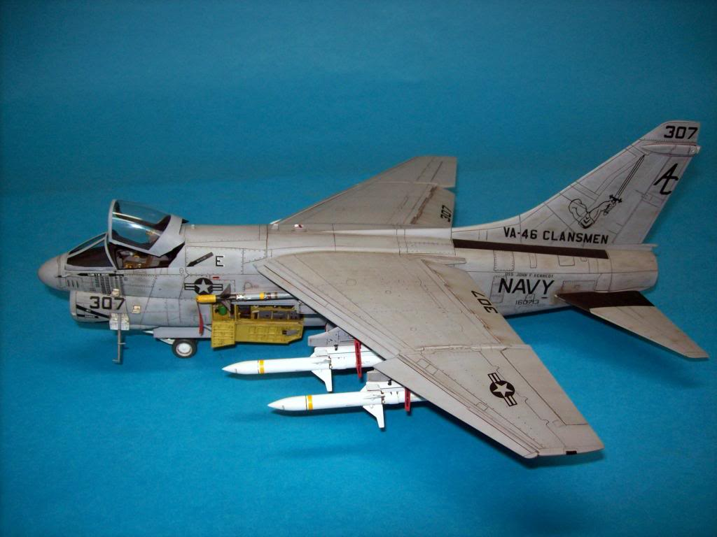 A-7E corsair II, 1/48 hasegawa. A7-37