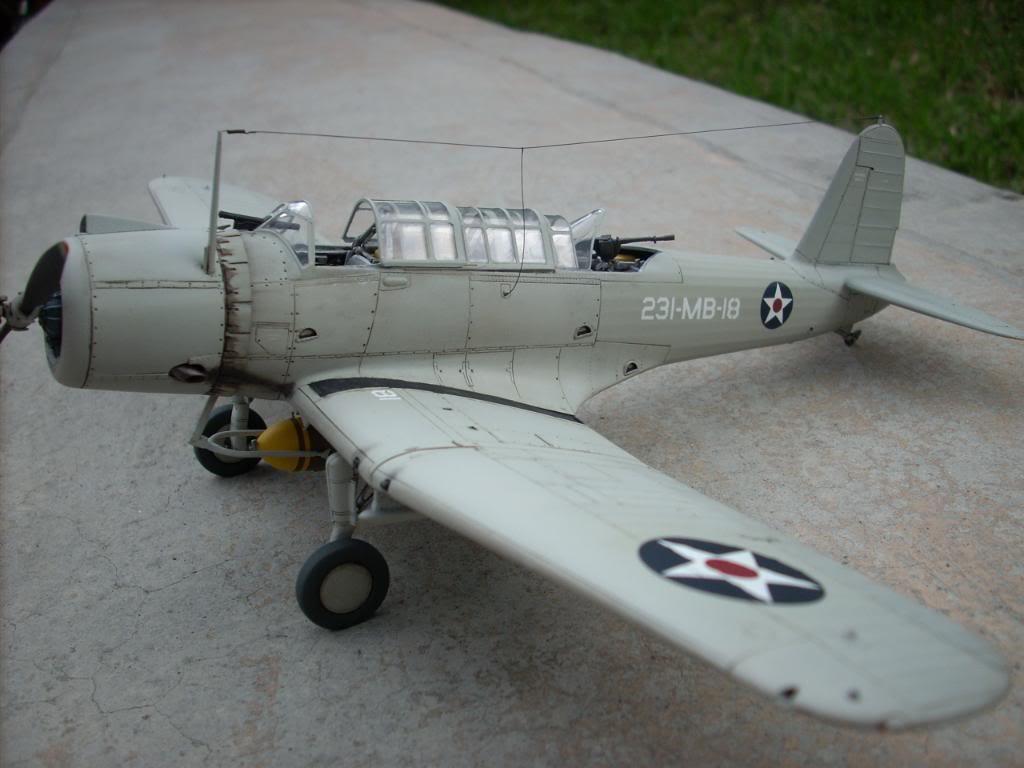SB2U-3 vindicator, Pearl Harbor  1/48 Imagen075