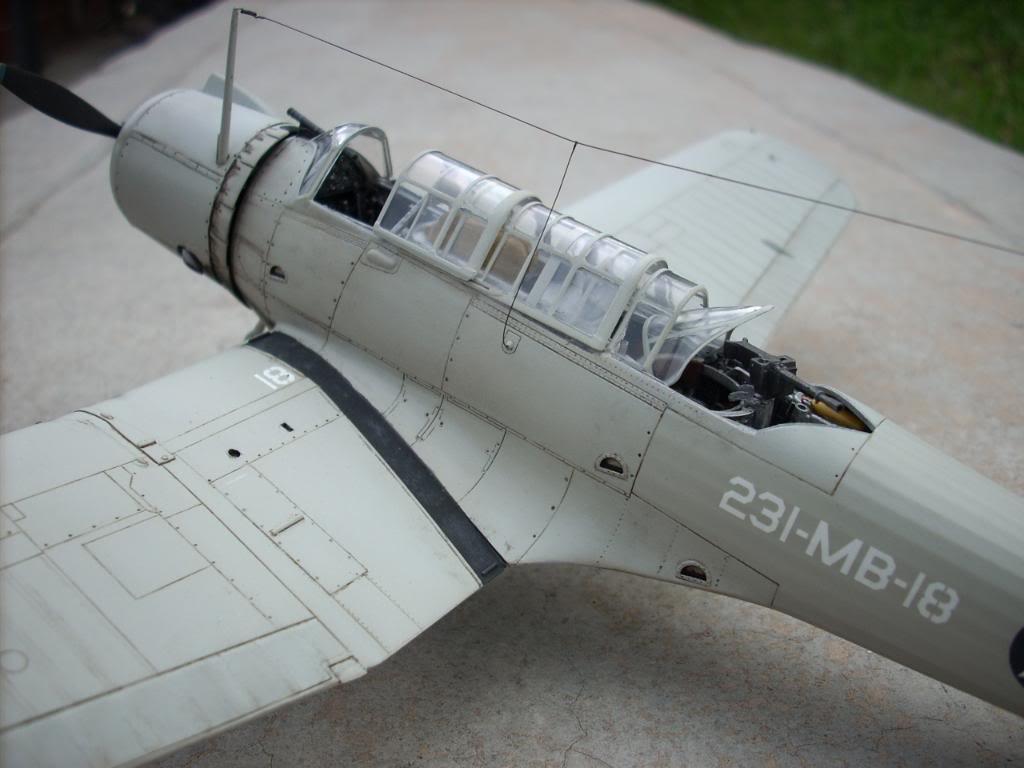SB2U-3 vindicator, Pearl Harbor  1/48 Imagen077