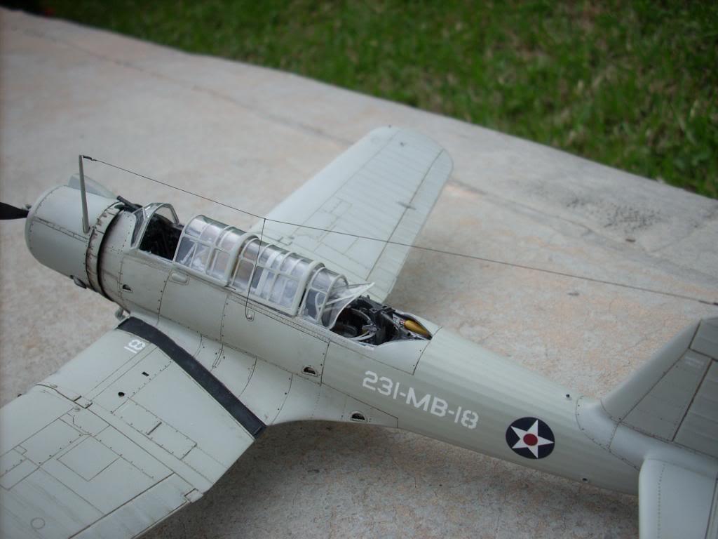 SB2U-3 vindicator, Pearl Harbor  1/48 Imagen081